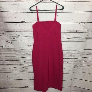 Express 9/10 convertible strap dress